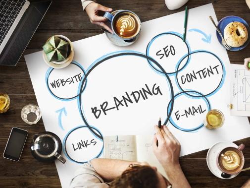 Digital Branding Meeting Table