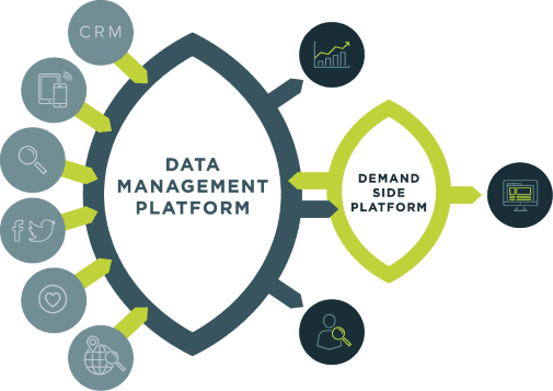 DMP Data Management Platform diagram
